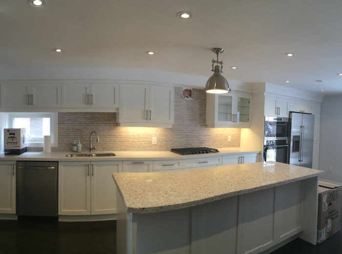 MDF Custom Kitchen Cabinets