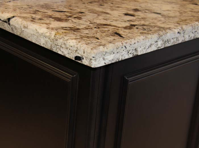 Ivory granite counter top