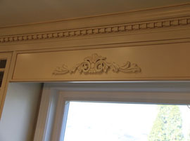 Custom Wood Window Valance