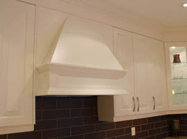 Decorative Custom Kitchen Fan Hood